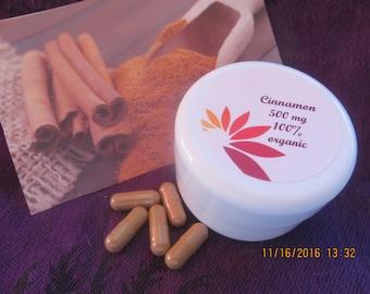 Organic Cinnamon Gelcaps