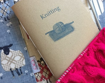 Knitting Travellers Notebook Insert A5/ Standard/ Personal/ B6 Travellers Notebooks,  Midori inserts, Fauxdori notetebook, knitting journal