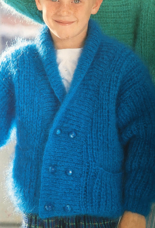 Childrens Cardigan Knitting Pattern, Wendy Knitting Pattern ...