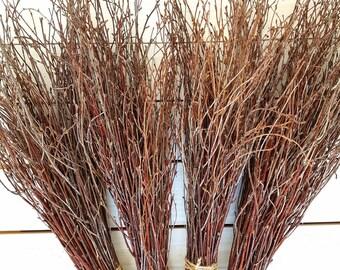 Birch branches,wood twigs,woodland wedding,birch branch,birch twigs,wedding decor,decorative twigs.Set of 4bundles,decorative Birch Branches