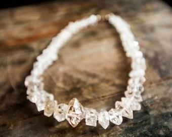 Herkimer Diamond Necklace/ Herkimer Diamonds/ Herkimer Diamond Jewelry/