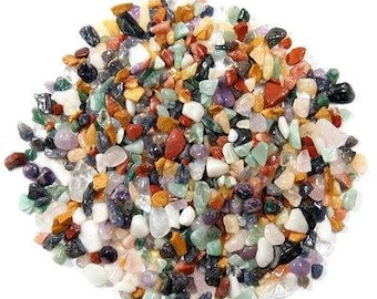 Assorted Polished Stones - Tumbled Stones - Polished Gemstones - Rock Collecting - Gift for Rock Lover - Kids Who Love Science