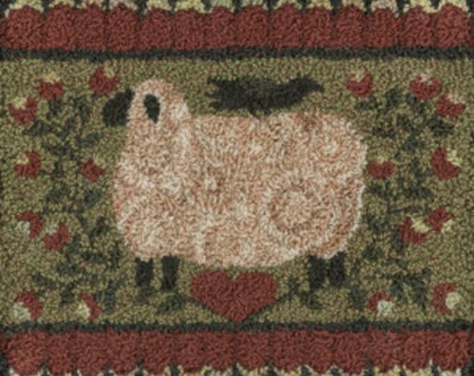 Pattern: My Shepherd Punch Needle by Teresa Kogut