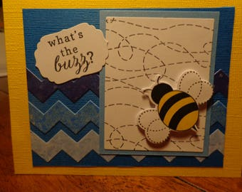 what's the buzz greeting card