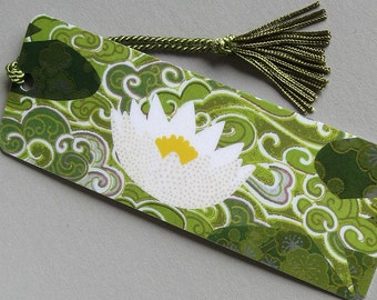Water Lily: a nature inspired bookmark
