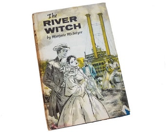 The River Witch - Marjorie McIntyre, Missouri River steamboat captain, western adventure novel, historical fiction, summer beach reading