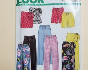 Simplicity New Look Pattern Size 8-18  #6982