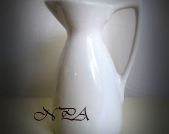 White Pitcher Still Life Photography Art Print Kitchen Art Home Decor Matted Picture A436