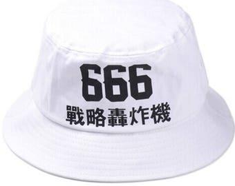 シ Sad Boys Yung Lean 666 Bucket Hat Brim Cap シ