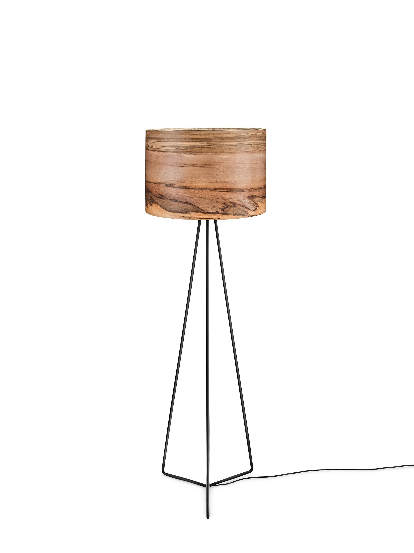 Wooden floor lamp veneer lamp shade satin walnut natural wood wooden floor lamp veneer lamp shade satin walnut natural wood lamps lighting modern lamps lampshades aloadofball Images