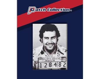 Pablo Escobar 128482 Mugshot Motif Iron On Patch