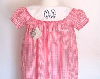 Spring Dress, Monogram Dress, Personalized Dress, Birthday Dress, personalized dress girls, Girl Monogram Dress, Monogram, Easter Dress