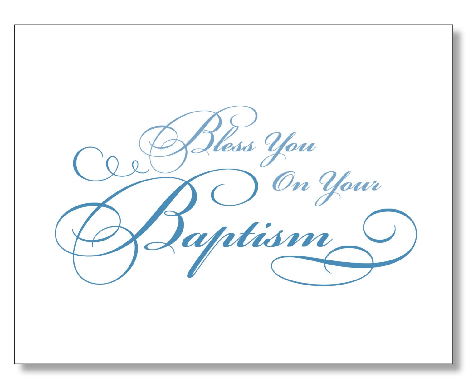 It is a photo of Versatile Baptism Cards Free