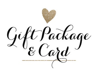 Gift Packaging & Card