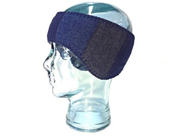 Wool Earflap Headband - Fleece Lined - Wool Headband - Free U.S. Shippping