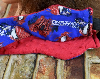 Ear Warmer   Headband   Spiderman Ear Warmer   Spiderman Head Warmer   Superhero Ear Warmer   Head Warmer   Ladies Headband