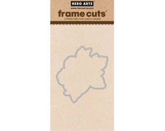 Hero Arts: DI482 Flowering Magnolia Frame Cuts, Stamping, Die, 2018 Spring Catalog, Paper Crafting, Scrapbooking, Cardmaking