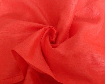 Silk Fabric, Dupioni Silk Fabric, Blend Silk Fabric, Art Silk Fabric, Coral Pink Dupioni Silk Fabric