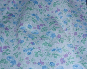 "Keepsake Calico Fabric Multicolor Flowers  100% Cotton 44"" Wide By The Half Yard 1/2"