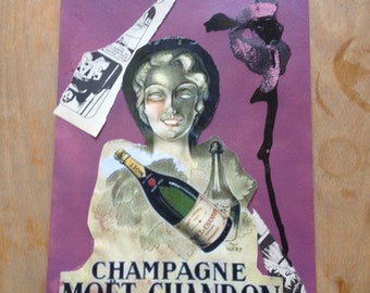 COLLAGE VINTAGE CHANDON- 1of1