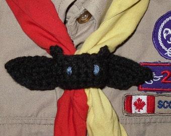Mang the Bat - Cub Scout Leader woggle