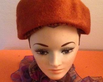Lovely Vintage Mystere Fur Hat