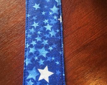Stars Fabric Bookmark
