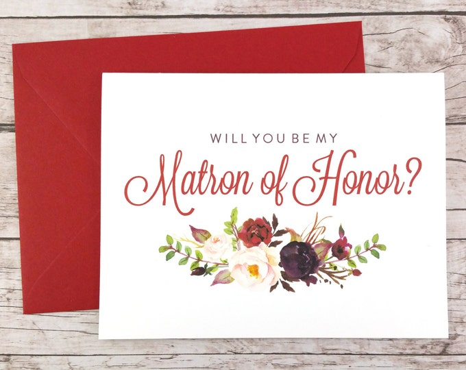 Will You Be My Matron of Honor Card (FPS0050)
