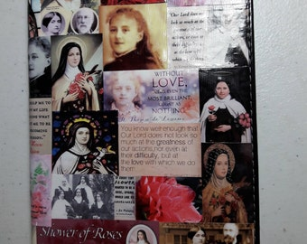 St. Therese of Lisieux (The Little Flower) Refillable Writing Journal