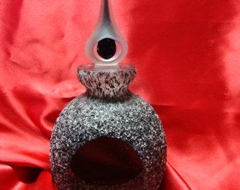 Perfume Bottle Black Modern REDUCED