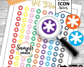 Functional Planner Stickers, Printable Stickers, Icon Planner Stickers, Stickers For Planning, Planner Stickers