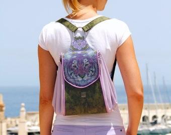 Backpack Pattern - Full Circle Handbag Replacement Backpack - Batala Backpack - PDF Sewing Pattern
