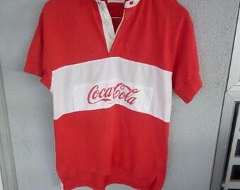"Vintage Coca Cola Shirt pit 18 "" inches"