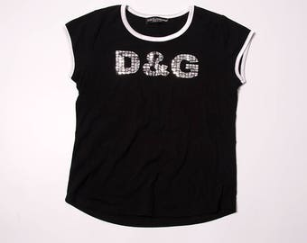 Vintage D&G Dolce and Gabbana 90s Top