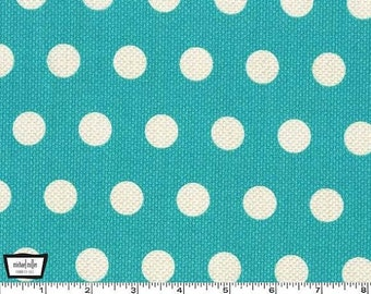 Michael Miller Textured Basics by Patty Young Cool Dots in Teal by the Yard