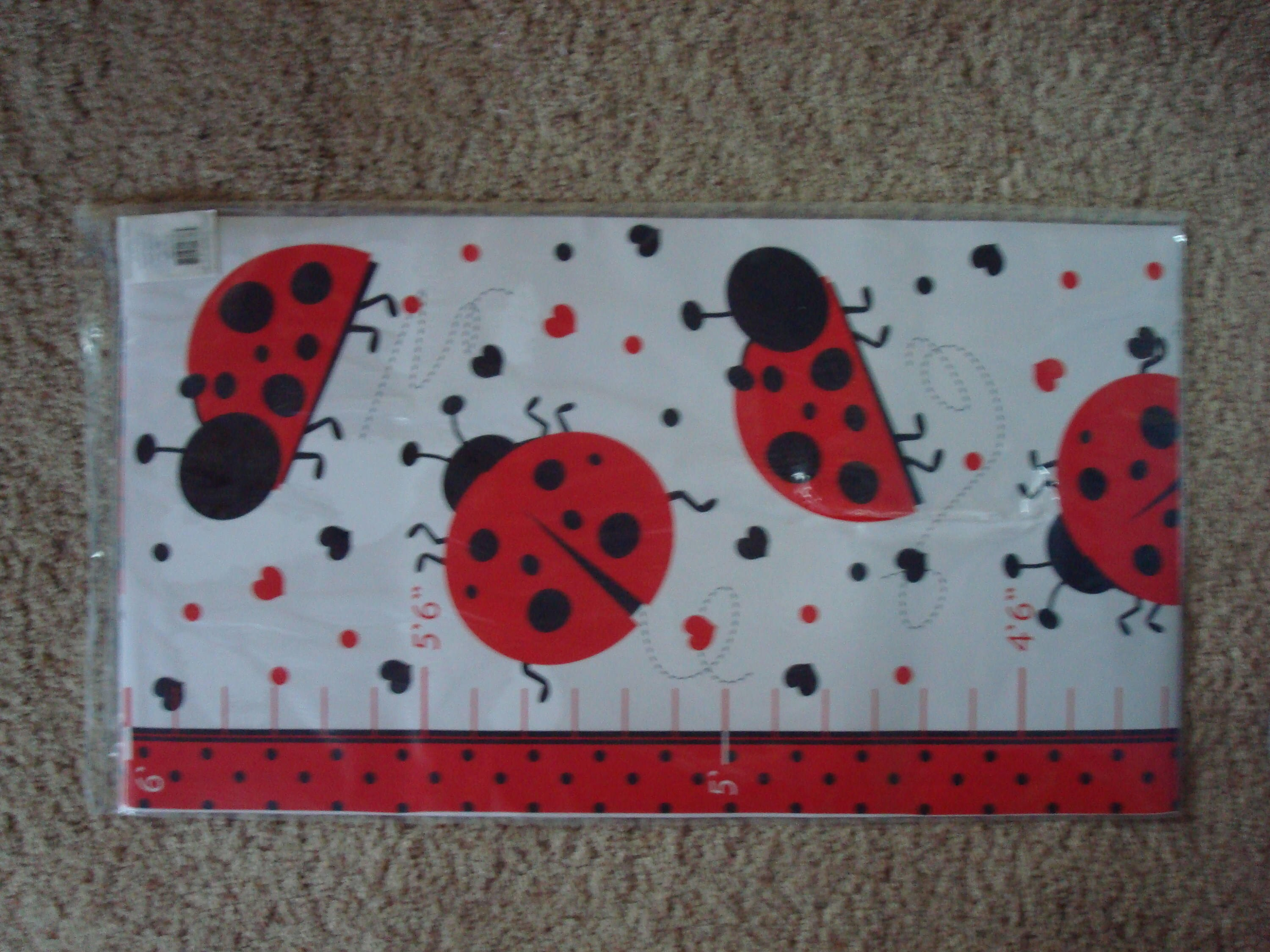 Ladybug baby shower gift ladybug growth chart gifts for new zoom geenschuldenfo Choice Image