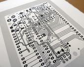 Arduino UNO circuit board...