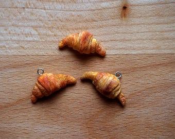 Croissant necklace