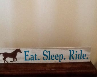 Horse lover wooden signs