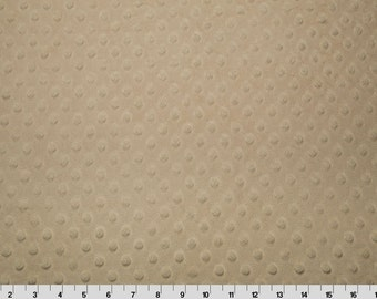 Latte Dimple Minky From Shannon Fabrics