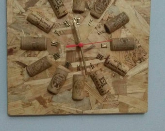 Counterclockwise of wood and cork