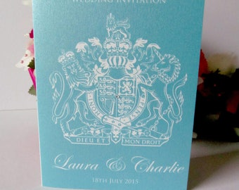 Sample Personalised Passport Abroad Flight Ticket Boarding Pass Wedding Invitations - Abroad Flight Ticket - ANY COLOUR