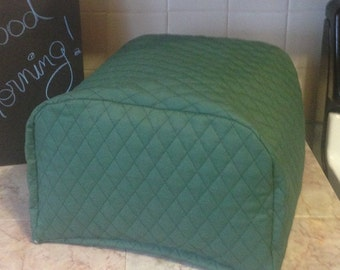 4 Slice Toaster Cover Zipper Cover  Small Appliance Covers Made To Order
