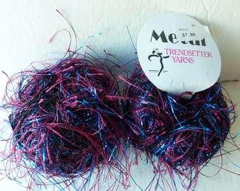 Sale Wine and Royal 62 Metal by Trendsetter Yarns