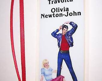 GREASE John Travolta Movie Memorabilia Film Cell Bookmark …