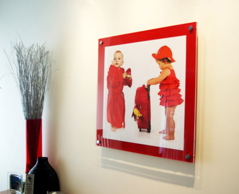 Red high gloss Cheshire acrylic 10mm 12 x 18 / 30 x 45 cm /18 x 12 ...
