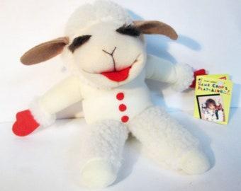 Lamb Chop Shari Lewis Play Along Stuffed Toy Plush Doll 1993