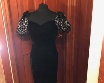 Puffy Sleeved Party Dress