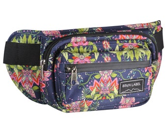 Hip Pack by BRKN LABEL- Cute Fanny Pack for Festival Traveling Outdoors