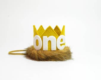 Max Birthday Crown || Where the Wild Things Are Birthday Crown || King Of The Jungle || Wild One || Cake Smash Outfit Boy